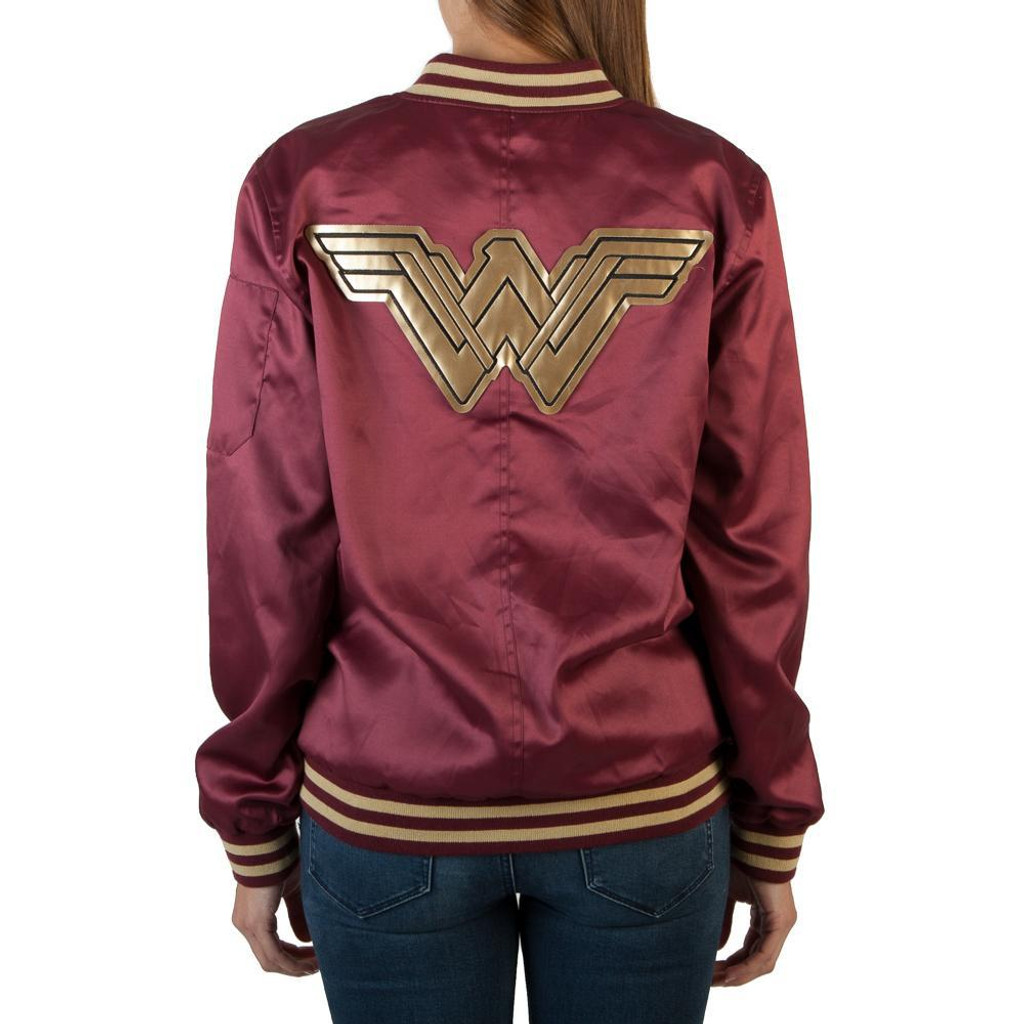 DC Comics Wonder Woman Bomber Jacket