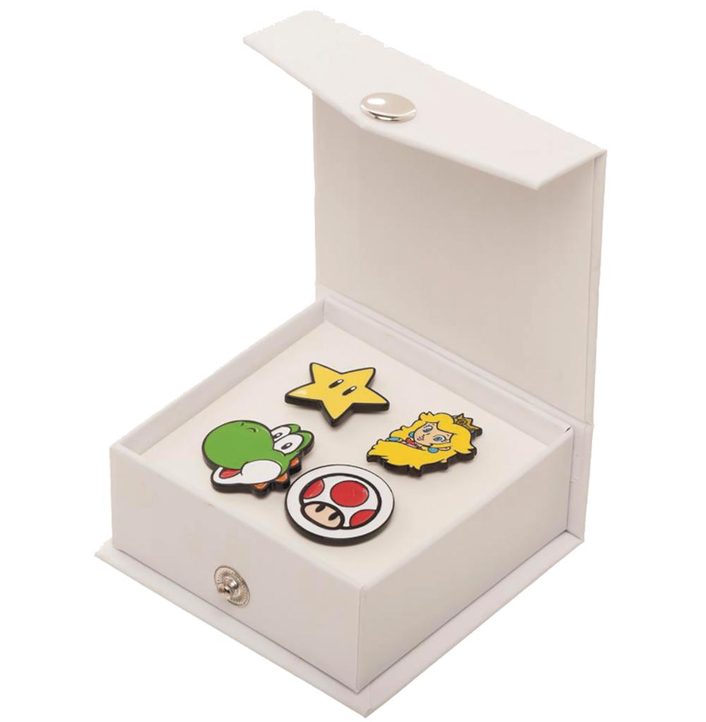 Nintendo - Super Mario Character Enamel Pin Set