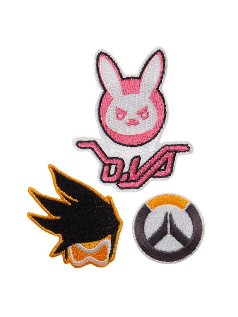 Overwatch - 3 Piece Character Patch Set