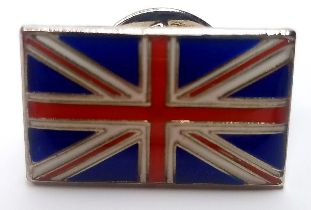 The United Kingdom (Union Jack) British Flag - UK Imported Enamel Pin - World Traveler
