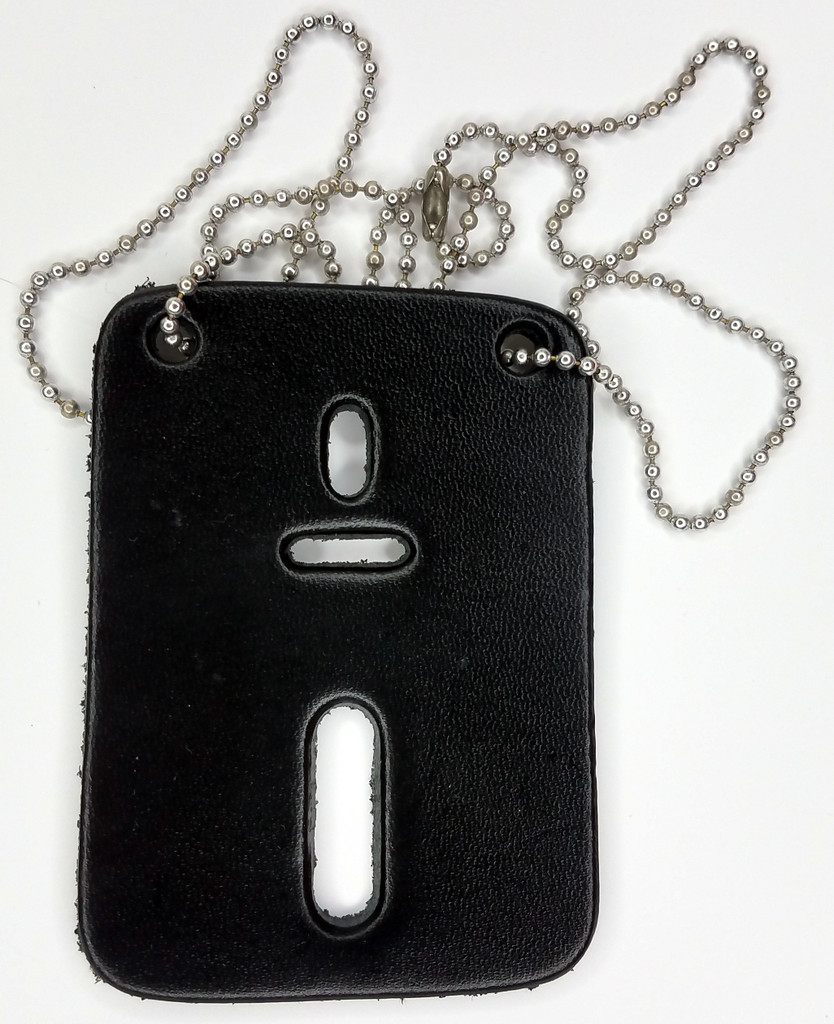 Detective Style Badge Holder with Chain - (Holds most standard badges we sell)