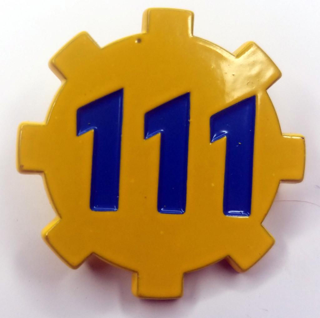 111 Logo Enamel Pin