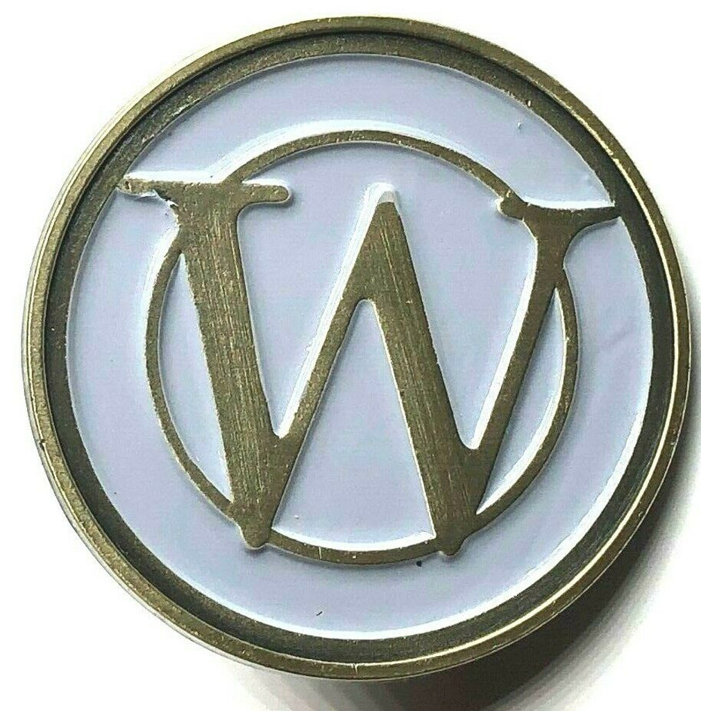 "SNOWPIERCER - ""W"" Wilford Industries Train Lapel Pin - TBS TV Series."