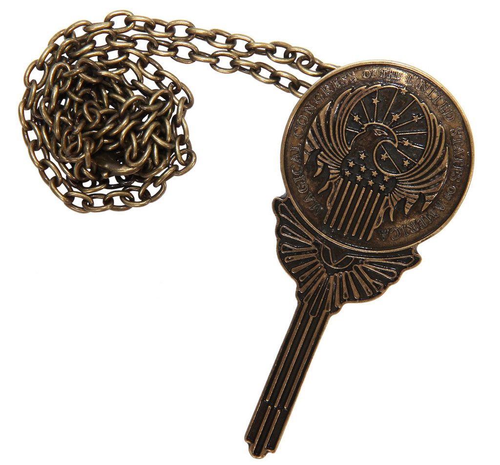 Fantastic Beasts - MACUSA Pendant/Pin (from the magical world of Harry Potter)