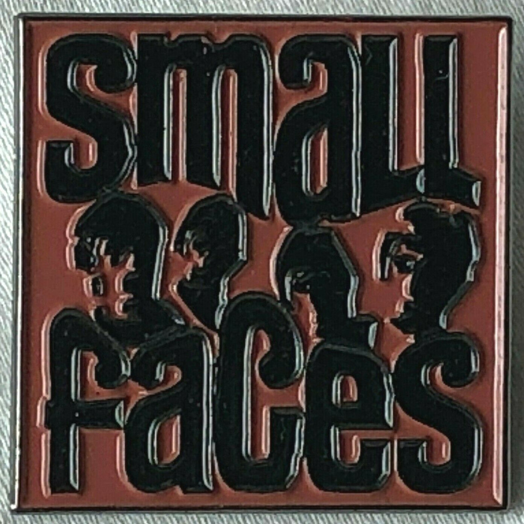 SMALL FACES Rock Band (Steve Marriott & Ronnie Lane) UK Imported Lapel Pin