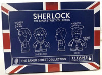 Sherlock Holmes Sherlock and Watson Wedding Day Titan Vinyl Figure Set - Entertainment Earth Exclusive