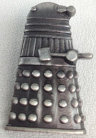 DOCTOR WHO - BBC TV Series DALEK Pewter-Style - Imported Lapel Tie Pin
