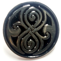 The Seal of Gallifrey (Rassilon) Doctor Who TV Series - UK Imported Enamel Lapel Pin