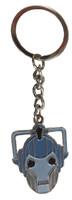 Cyberman Head Keychain