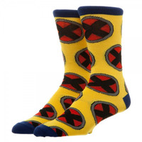 Marvel X-Men All-Over Print Crew Socks