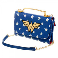 DC Comics Wonder Woman Crossbody Wallet Clutch