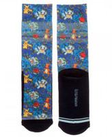 Pokémon Floral Sublimated Crew Socks