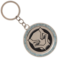 Black Panther Movie Logo Metal Keychain