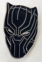 Black Panther Enamel Pin