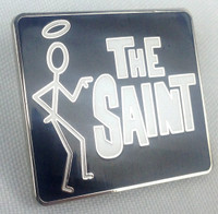The SAINT - 1960's Classic T.V. Television Series (Roger Moore) - Enamel Lapel Pin