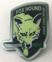 FOX HOUND CAMO Green - Video Game METAL GEAR SOLID - Special Forces Group - Enamel Pin