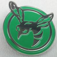 GREEN HORNET Radio - 1966 TV Series - Movies - Cult Classic Logo - Enamel Pin