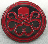 Captain America HYDRA Marvel Movie & TV Series & Agents of SHIELD - Enamel Pin