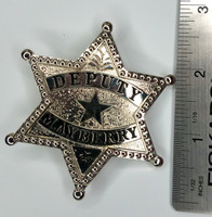 The Andy Griffith Show - DEPUTY Barney Fife (Don Knotts) Mayberry Prop Replica Metal Badge