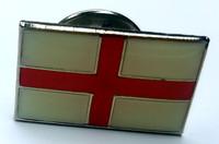 St. George's Cross Flag Enamel Pin