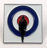 THE WHO Rock Band QUADROPHENIA Lapel Pin (DALTREY - TOWNSHEND - ENTWISTLE - MOON)
