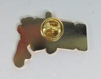 DEXTER TV Series Logo Enamel Pin - Based on the show starring Michael C. Hall