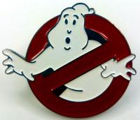 GHOSTBUSTERS  - Original 1984 Movie Logo - Enamel Lapel Pin - Bill Murray & Dan Aykroyd