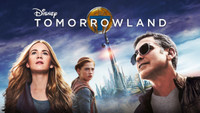 TOMORROWLAND 2015 George Clooney Movie Limited Edition Lapel Pin - 1984 Style
