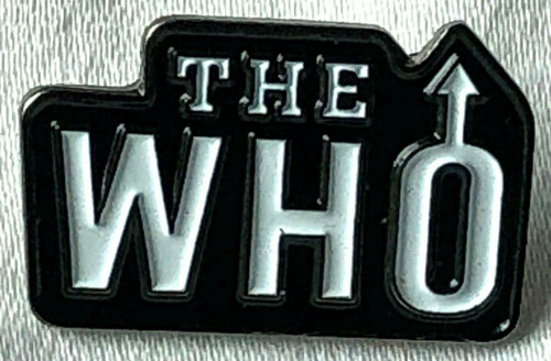 The WHO Rock Band (DALTREY - TOWNSHEND - ENTWISTLE - MOON) UK Imported Lapel Pin