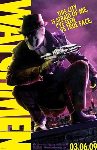 WATCHMEN Movie Rorschach - 24x36 Poster Print