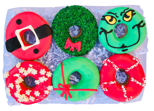 Christmas Doughnut Gift Box