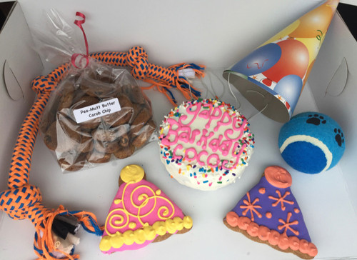 Yappy Barkday Box - Everything you need for your dog's special day!
