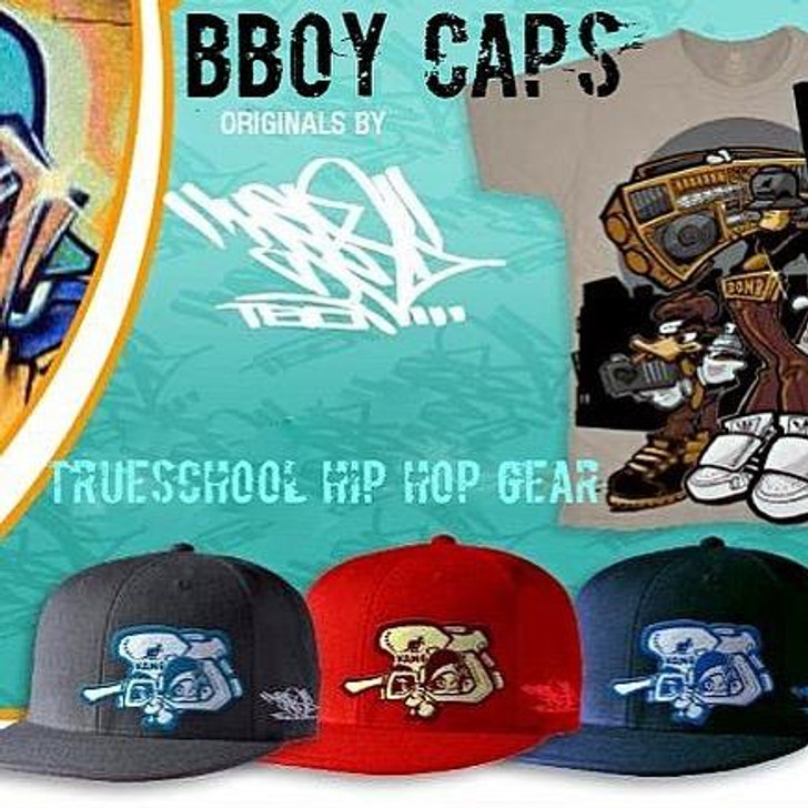 HEX BBOY CAPS - FITTED & SNAPBACKS