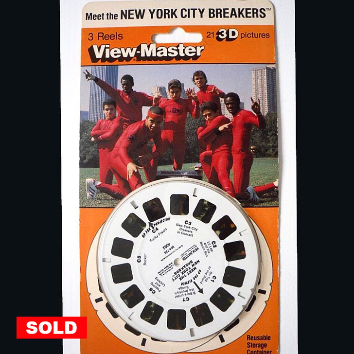 RARE! - VIEWMASTER NEW YORK CITY BREAKERS