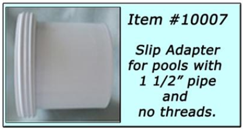 Slip Adapter