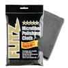2 premium microfiber polishing cloths