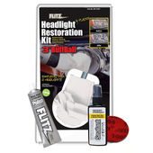 Headlight & Plastic Restoration Kit
