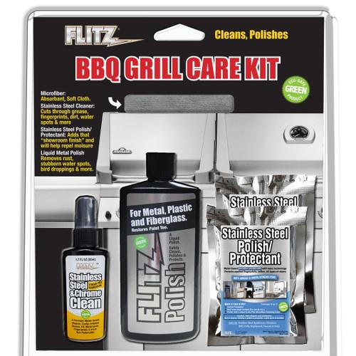 Flitz BBQ Grill Kit