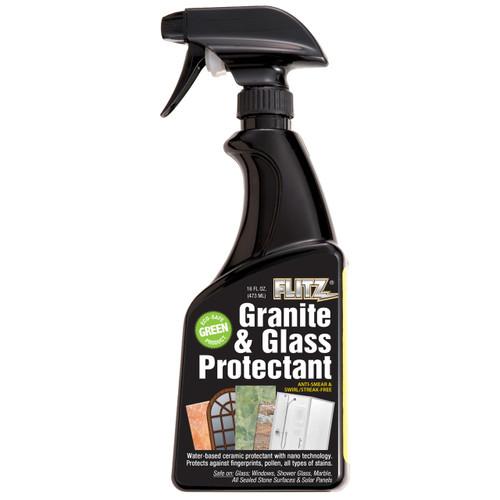 Flitz Granite & Glass Protectant - 16oz Spray Bottle