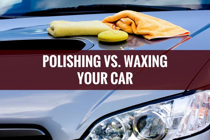 Car Polish Vs. Wax