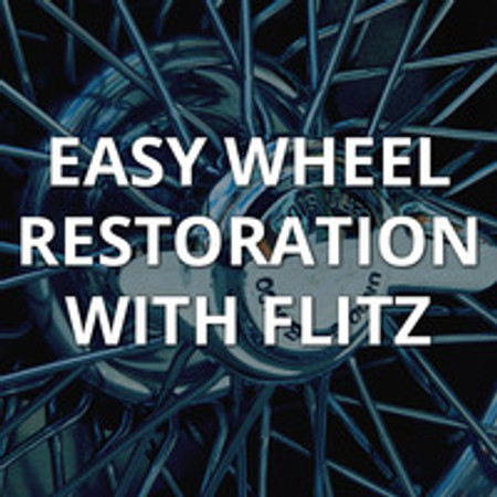 Restore and Maintain Wheel Rims with Flitz Polishing Products