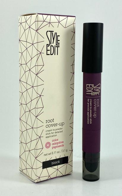 Style Edit Root Cover Up Stick Black - 0.11 Oz.