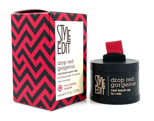 Style Edit Drop Red Gorgeous Root Touch-Up Dark Red - 0.13 Oz.