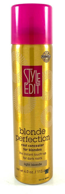 Style Edit Blonde Perfection Root Concealer Spray Light Blonde - 4 Oz.