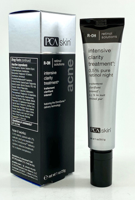 PCA SKIN Intensive Clarity Treatment 0.5% Pure Retinol Night - 1 Oz.