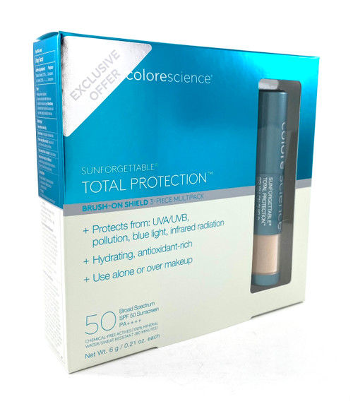 Colorescience Sunforgettable Total Protection Brush-On Shield SPF 50 Multipack MEDIUM