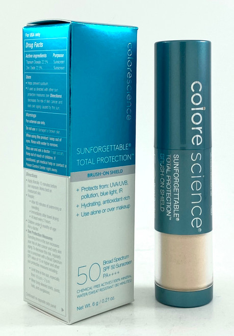 Colorescience Sunforgettable Total Protection Brush-On Shield SPF 50 FAIR - 0.21 Oz.