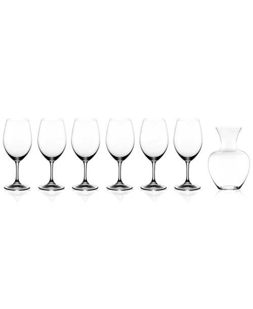 Riedel Ouverture and Gift (6 ouverture magnum and 1 riedel apple decanter)