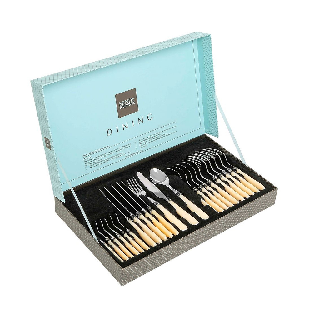 24 PC Vintage Cutlery Set  -  MIL001
