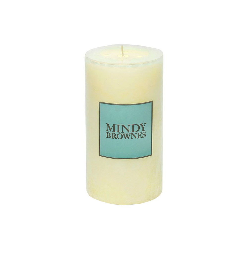 Mindy Brownes Vanilla Pillar Candle Large  -  DT001